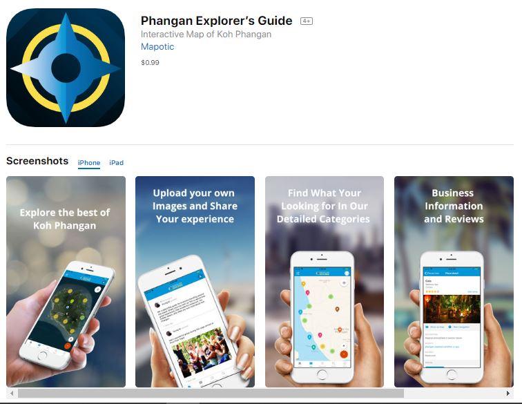 Koh Phangan Explorer App